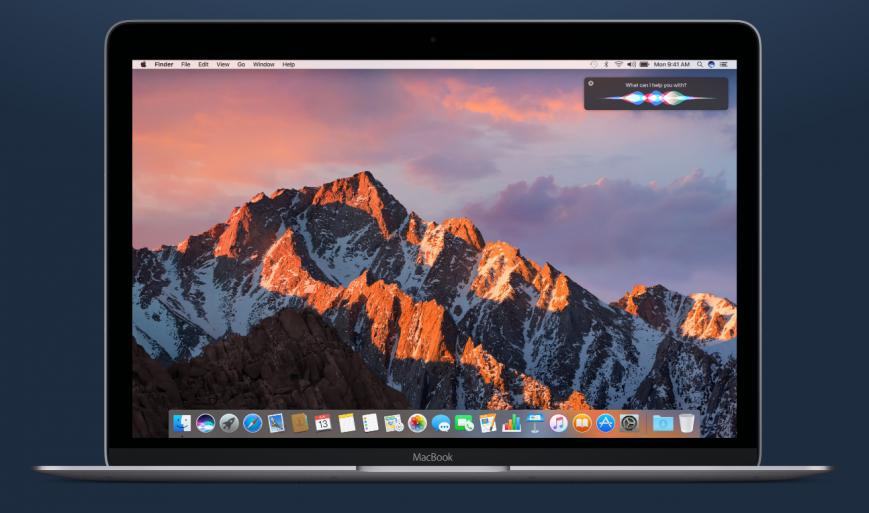 Apple назвала Mac-и с поддержкой macOS Sierra