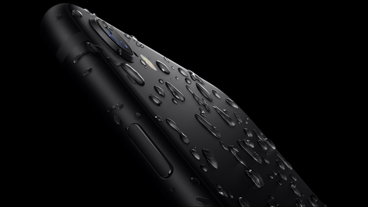 iPhone SE water resistant