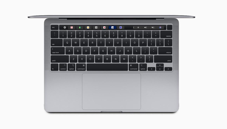 Новая клавиатура Magic Keyboard поставляется с 13-дюймовым MacBook Pro, предоставляя лучший опыт печати на ноутбуке Mac.