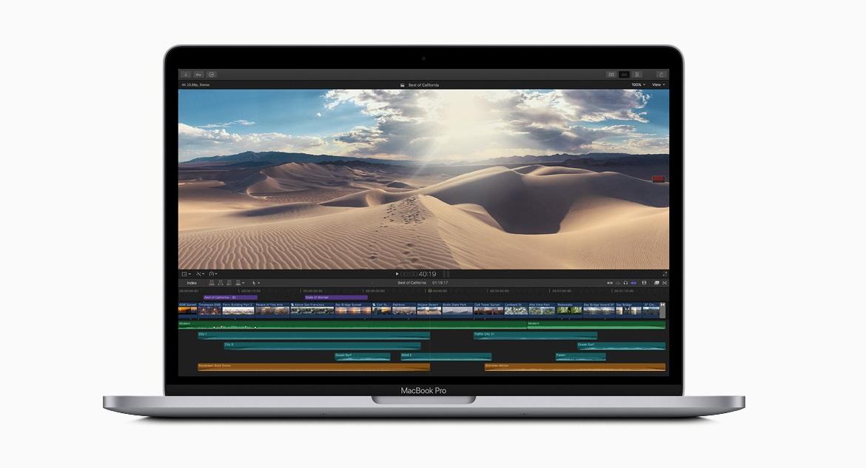 Со стандартным объемом от 256 ГБ до 1 ТБ пользователи 13-дюймового MacBook Pro могут хранить еще больше фотографий, видео и файлов.