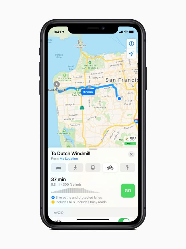 Карты предлагают велосипедные маршруты по велосипедным дорожкам, велосипедным дорожкам и велосипедным дорогам.