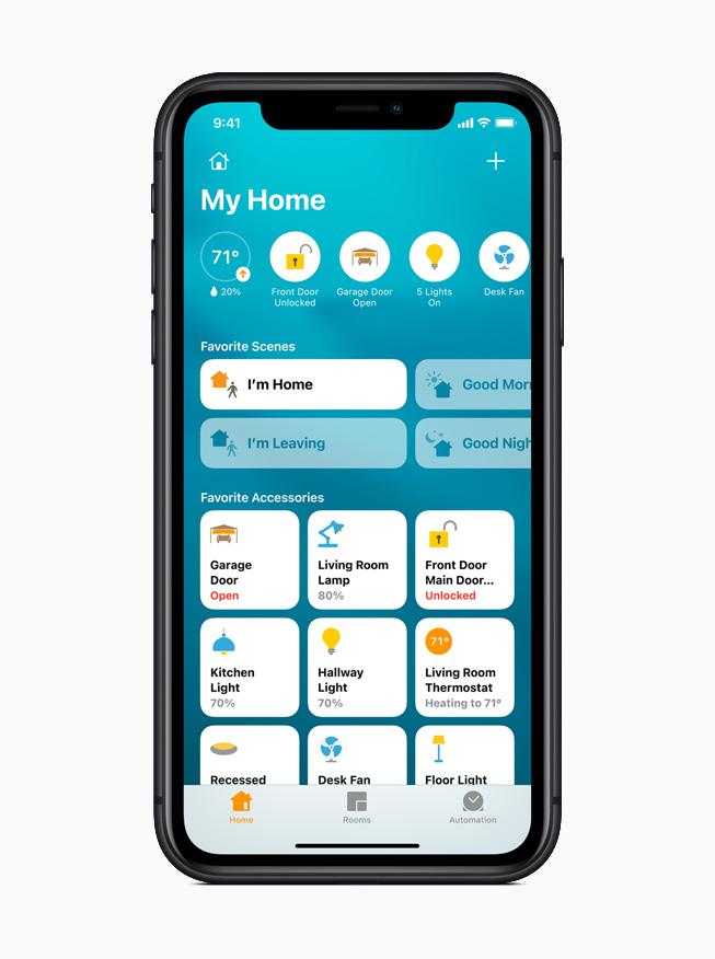 В приложении «Дом» появился новый визуальный статус, который позволяет с первого взгляда увидеть аксессуары умного дома пользователя.