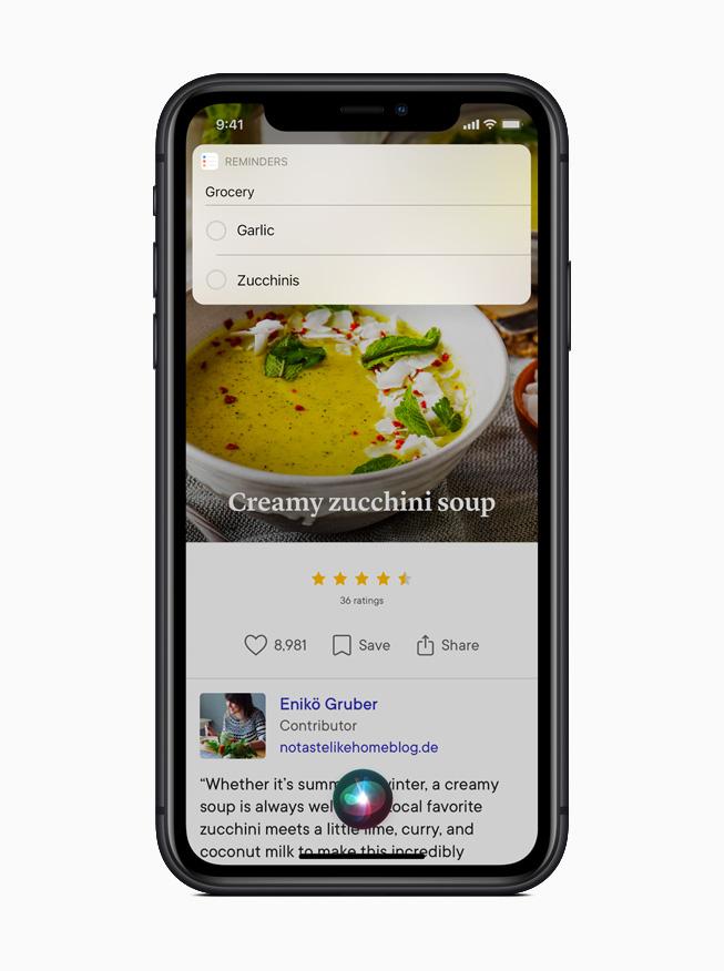 Интерфейс Siri переработан, чтобы пользователи могли оставаться в контексте того, что они делают.