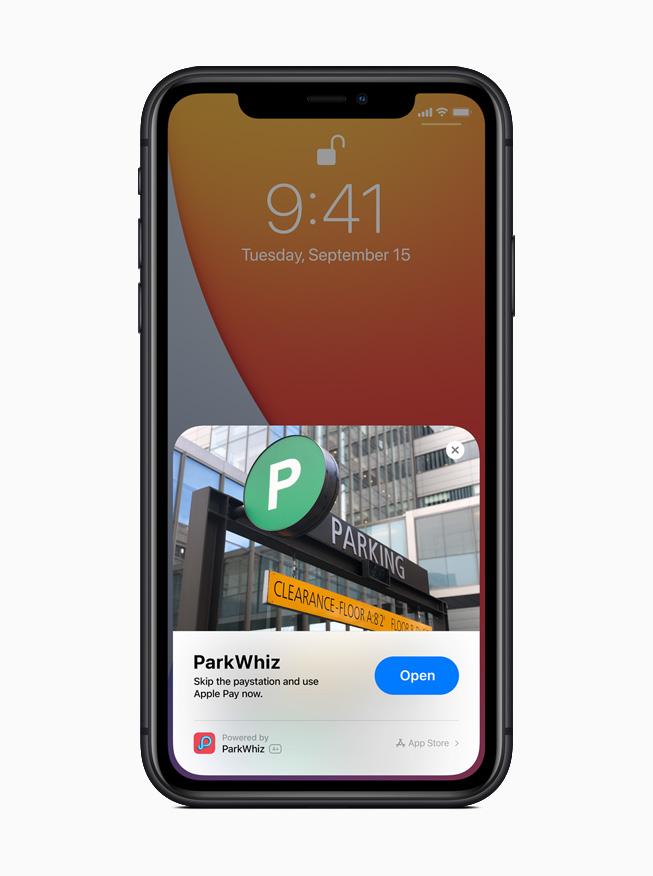 App Clips быстро и легко обнаруживаются и позволяют пользователям получить доступ к части приложения в тот момент, когда они им понадобятся.