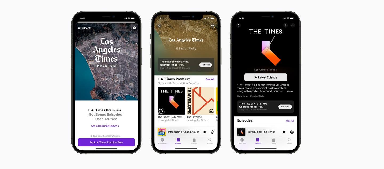 Подписки и каналы Apple Podcasts теперь доступны по всему миру