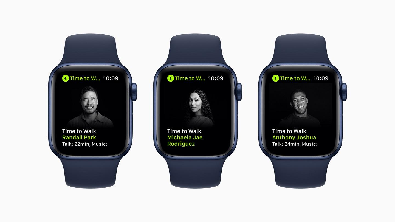 Apple Fitness+ выпускает новые серии Time to Walk, начиная с 28 июня