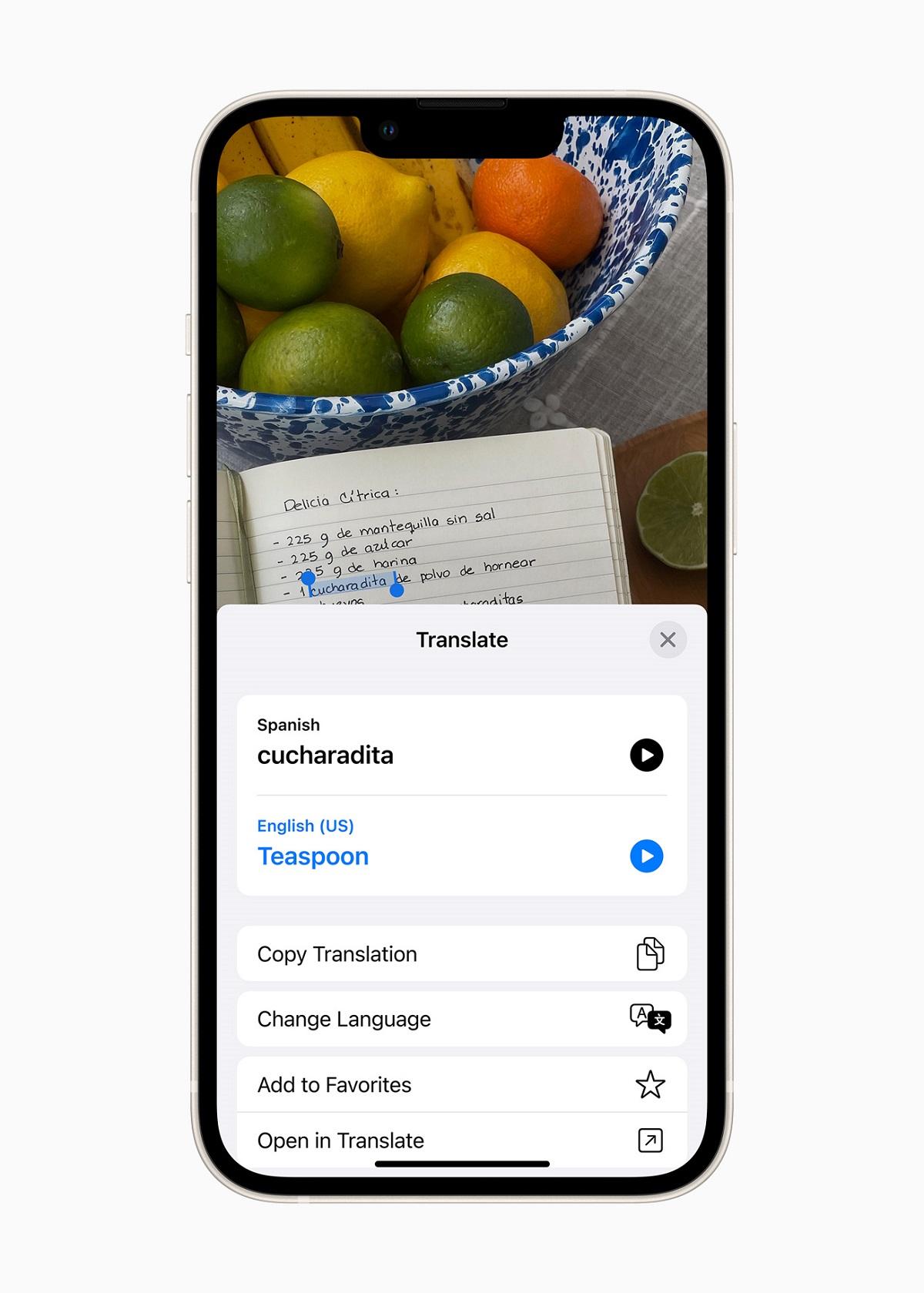 Переводчик становится общесистемным, позволяя пользователям переводить текст где угодно на iPhone.