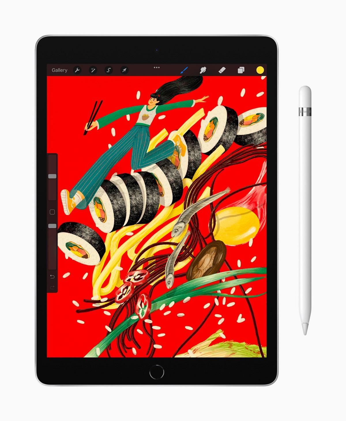 Мощный чип A13 Bionic входит в комплект поставки самого популярного iPad, позволяя пользователям легко запускать передовые приложения.