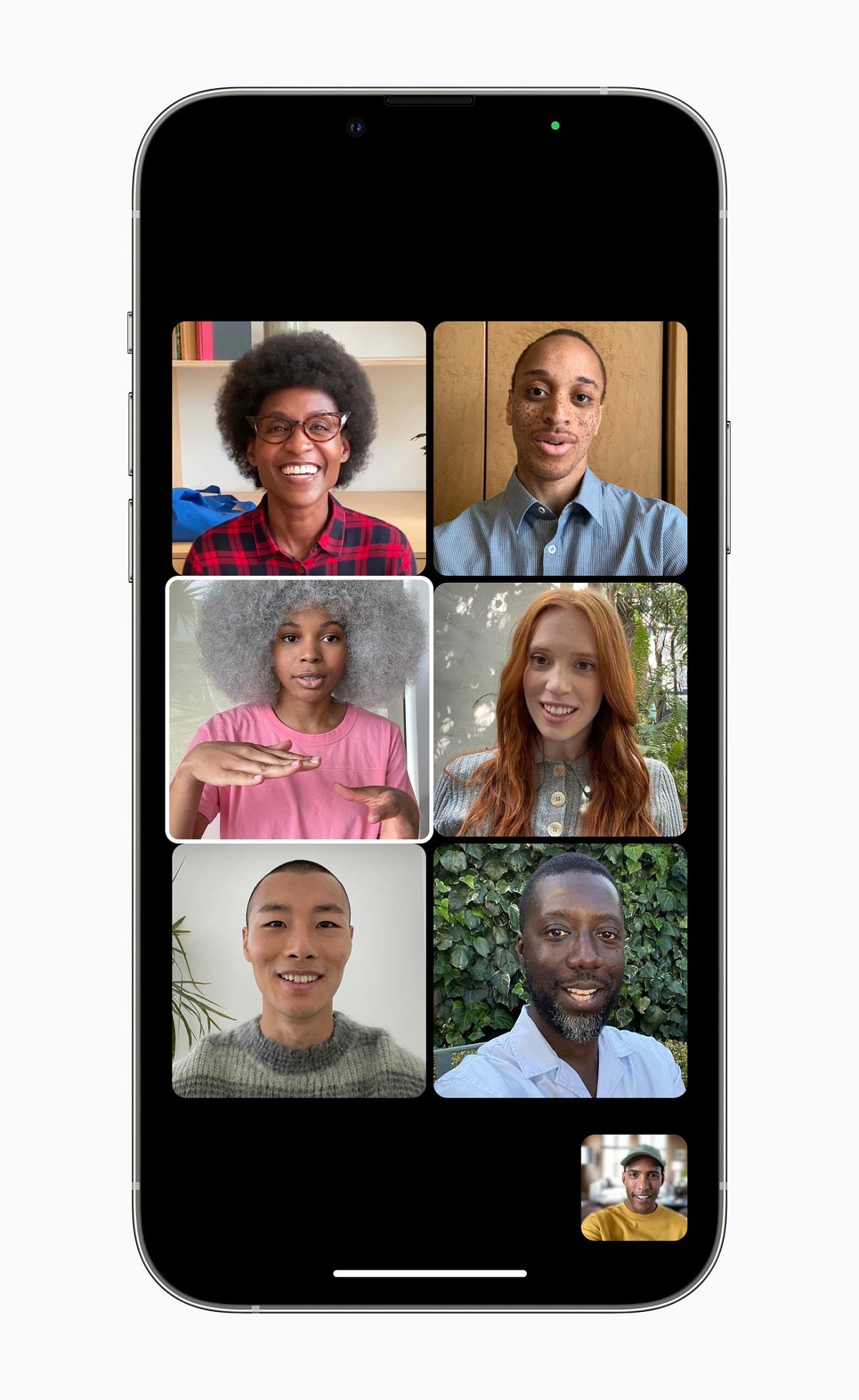 Потрясающий портретный режим из приложения «Камера» теперь оптимизирован для видеозвонков в FaceTime в iOS 15.